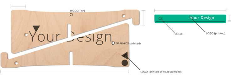 customised laptop stand - promotional stand
