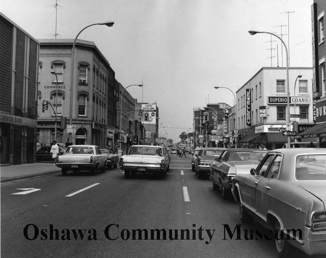 King Street looking east from the Four Corners - 1970