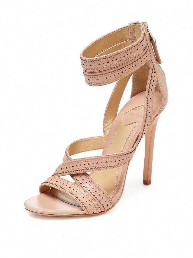 a54651b02 B Brian atwood Lucila Ankle Strap Sandal Ladies Women Heel Stiletto Light  Blush  BBrianAtwood  Stilettos  stilettoheelsbrianatwood   ...