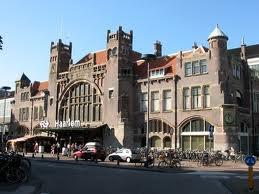 Art Nouveau station of Harlem, The Netherlands