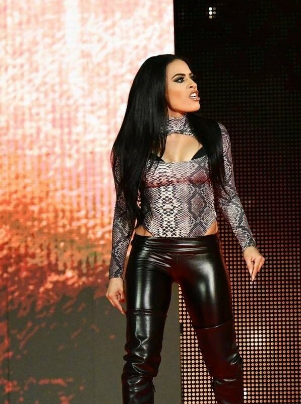Zelina Vega Wwe Nxt Roster Thea Trinidad Leather