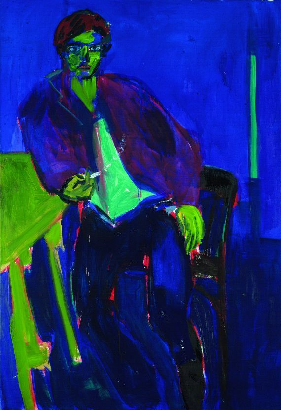 Rainer Fetting - Even on a green table
