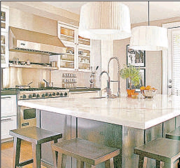 Kitchen Without Cabinets: Kitchen Without Upper Cabinets