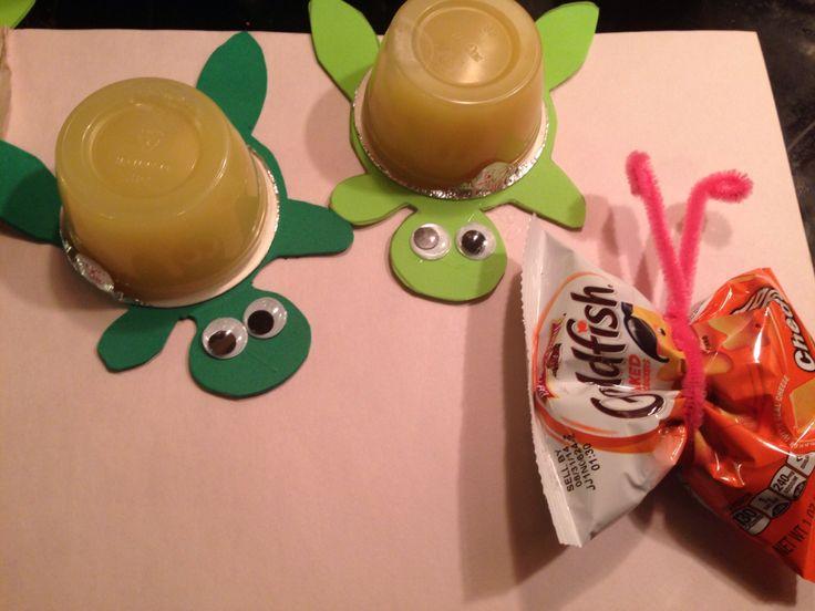 cute take to school health birthday treats