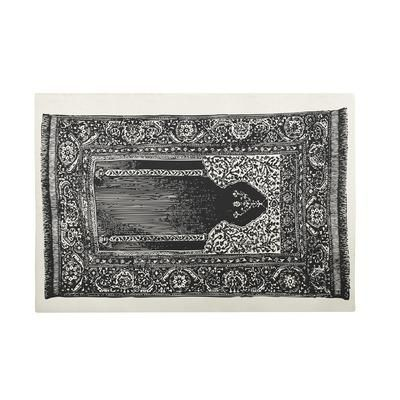"""Thomas Paul Bath Luddite Mat in Black Features: -Bath collection. -Material: 100% Cotton. -Color: Black. -Theme: Luddite. -Hand screened. Dimensions: -36"""" W x 24"""" D. More Details"""