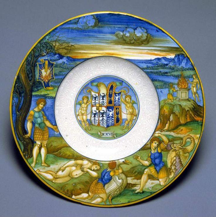 Image result for maiolica gift for Isabella d'Este