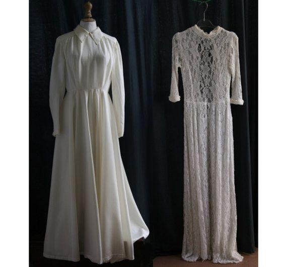 Années 1940 2 Robes longues de mariées pour par SergineBroallier