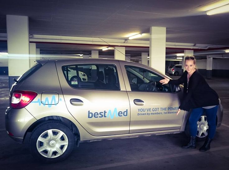 One of our #BestMed drivers getting paid to get the conversation started. #EarnExtraCash #BrandYourCar #Bucks4Influence