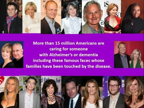 Celebrities Share Personal Stories About Alzheimer's
