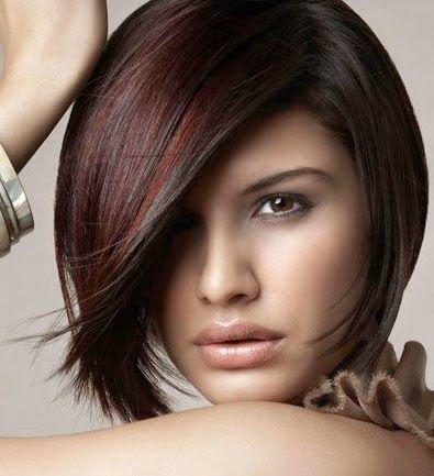 Yeni Çıkan Kızıl Balyajlı Saç Modelleri ~ Saç Modelleri modeli resmi