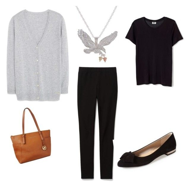 """""""My stuff"""" by traceyposhbird on Polyvore featuring Theory, Michael Kors, MANGO and French Sole FS/NY"""
