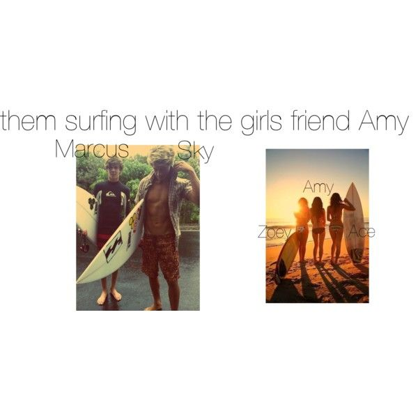"""The kids surfing"" by nmdillon on Polyvore"