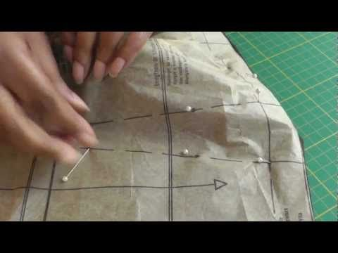Pin Marking Sewing Patterns:  Fashion sewing TV blog with lots of tutorials