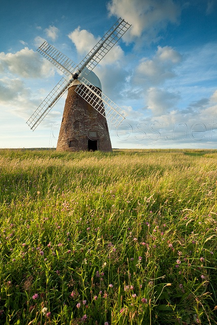 'Cloverfield' by Slawek Staszczuk Halnaker Windmill, on the outskirts of South Downs National Park~East Sussex~England