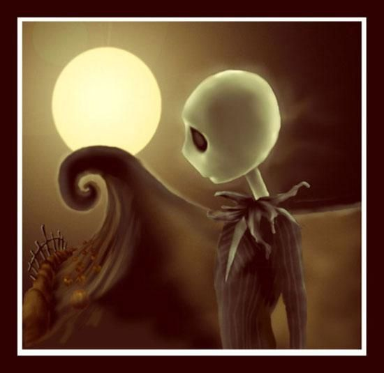 Tim Burton - The Nightmare before Christmas. Such a touching movie.