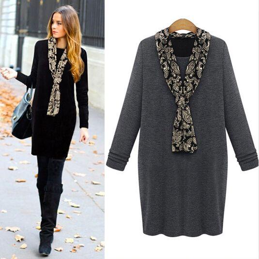Winter style dress