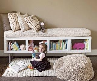 storage / reading nook