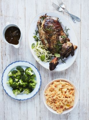Rosemary & garlic lamb shoulder | Jamie Oliver