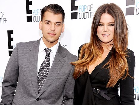 Khloe Kardashian Admits She's Lost 13 Pounds, Says It's Harder for Brother Rob ... Rob Kardashian #RobKardashian