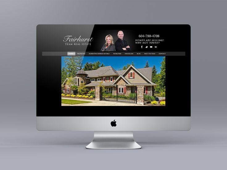 New website for Surrey Realtor Julie Fairhurst and the Fairhurst team. Uses the Ubertor CMS.