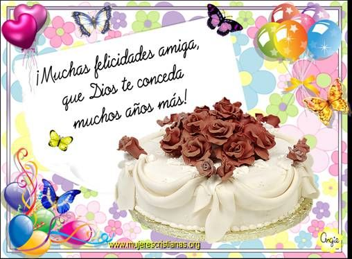488 best images about felicitaciones Cumpleaños on Pinterest Amigos, Birthday wishes and