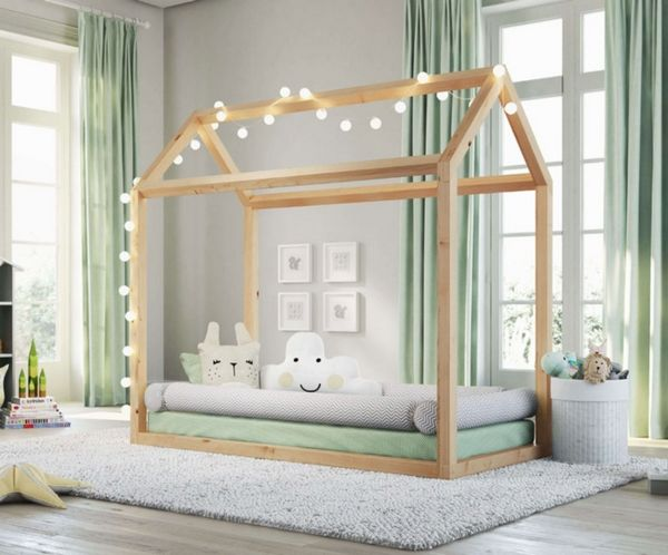 House Bed For Kids Multifunctional Furniture In Montessori Kids