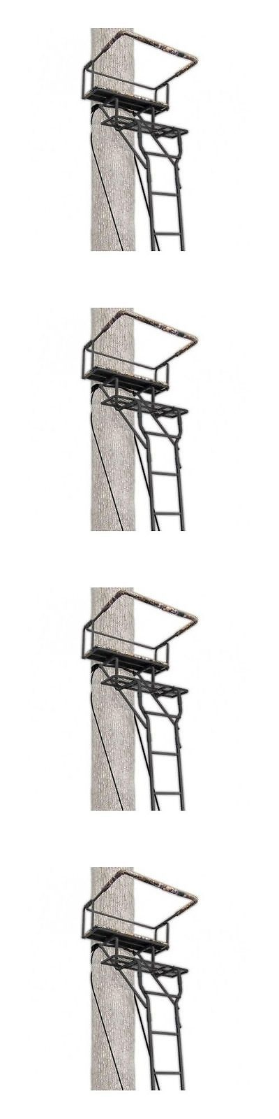 Tree Stands 52508: Ladder Tree Stand Ameristep 15 Two- Man Solid Steel 2 Seat Hunting Stand New BUY IT NOW ONLY: $1187.97