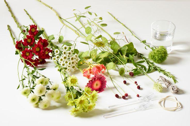 Tischdekoration   Flowers for In and Out Materialzusammenstellung