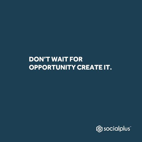 People who enjoy consistent success know what it takes to make great opportunities happen. Like if you agree. #socialplus