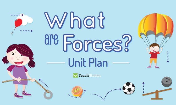 What Are Forces? Unit Plan
