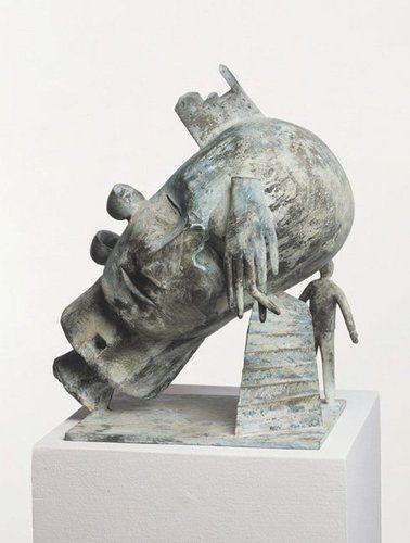 Mimmo Paladino Untitled 1997 Bronze