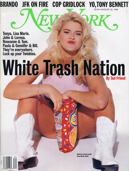 stronglook:    Anna Nicole Smith - New York Magazine