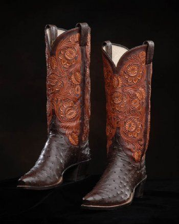 Would love these YeehawMen Cowboy Boots, Nicotine Full, Boots Maker, Full Quilling, Comforters Boots, Quilling Ostrich, Cowgirls Boots, Cowboy Style, Ostrich Boots