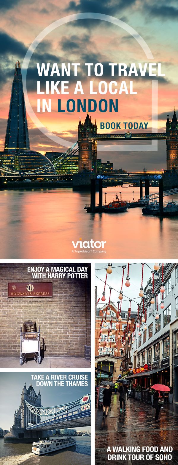 Make your vacation to London even more memorable with our tours & activities!