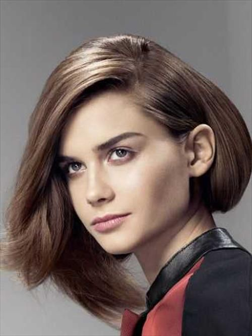 Asymmetrical Bob Hairstyles Pctures