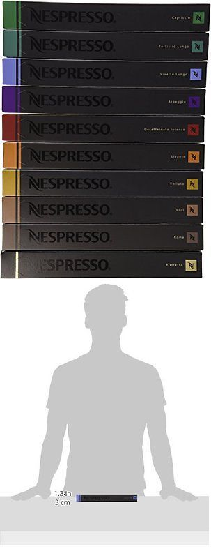 Coffee Pods and K-Cups 79630: Nespresso Original Line Capsules Variety, 100 Count | Free Shipping -> BUY IT NOW ONLY: $84.69 on eBay!