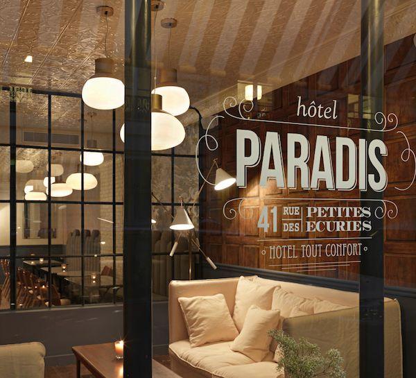 Hotel Paradis Paris   41, rue des Petites-Ecuries   75010 Paris, France