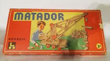 Antique 1959 Matador 3A Korbuly wooden kit game vintage construction toy Austria in Toys & Hobbies, Vintage & Antique Toys, Other Vintage & Antique Toys | eBay
