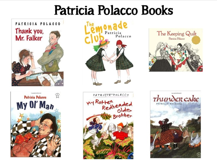 Jennifer's Teaching Tools: Author Study #2- Patricia Polacco