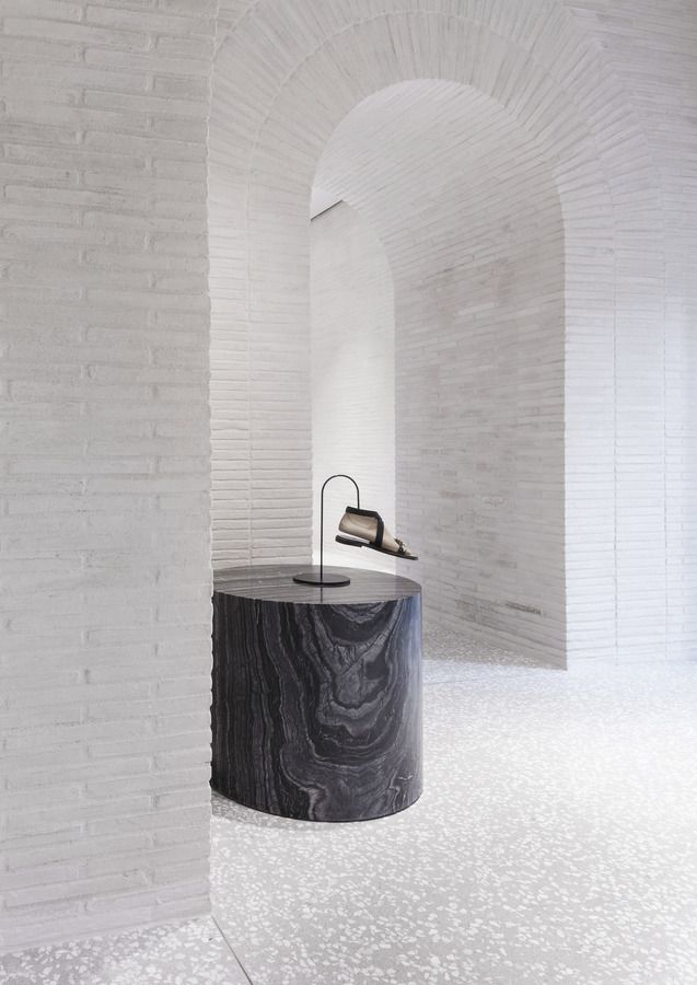 Visions of an Industrial Age // David Chipperfield Architects – Valentino Rome Flagship Store