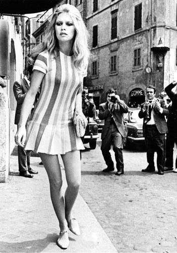 Brigitte Bardot Fashion Mink coats, The sixtie...