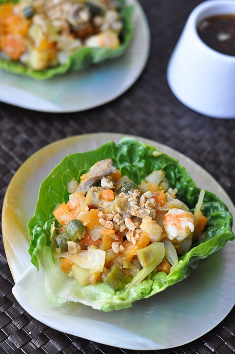'Naked' Shrimp Spring Rolls (Lumpiang Hubad) by trissalicious Salad Spring_Rolls Shrimp trissalicious