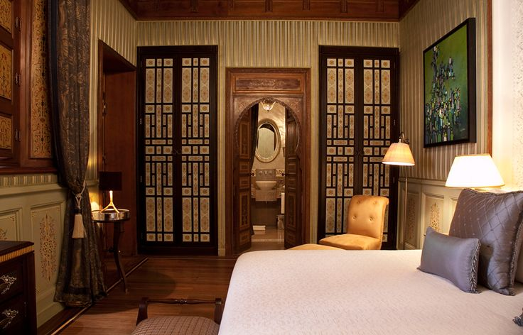 Riad One Bedroom Suite. Royal Mansour, Marrakech, Morocco. © Royal Mansour