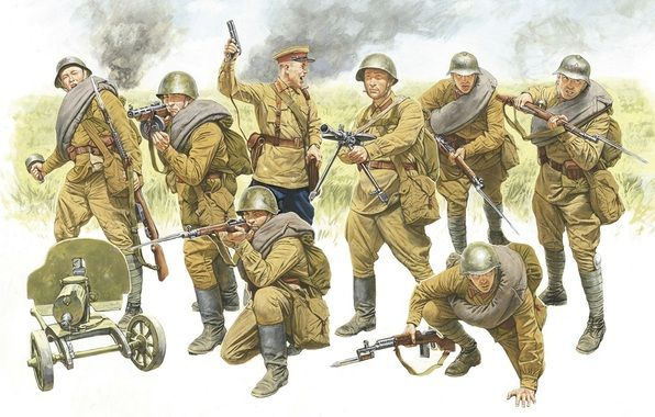 Tank Taco: Basic Soviet Infantry Uniform WWII (era 1942 early-Late ...