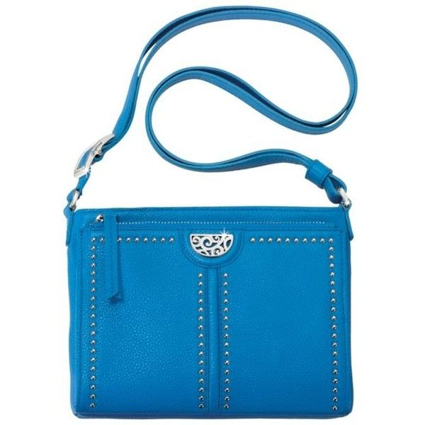 Brighton Bali Pretty Tough City Organizer (305 AUD) ❤ liked on Polyvore featuring bags, handbags, bali, cell phone crossbody, pocket purse, brighton purses, cross-body handbag and blue purse