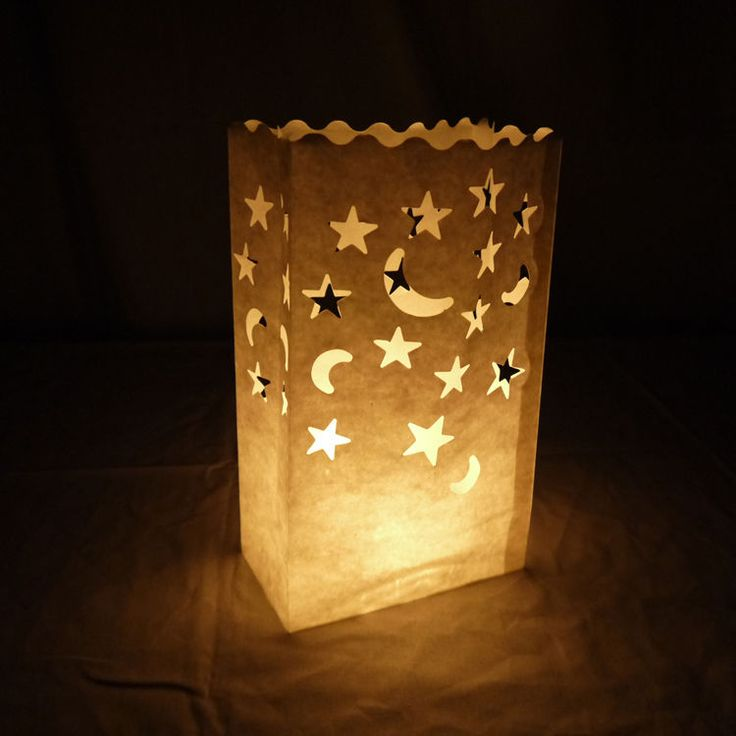 25 best ideas about paper bag lanterns on pinterest for Recycled paper lantern