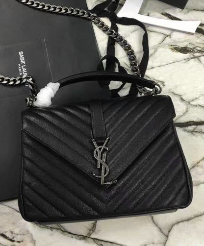020f4ccd4739 Replica YSL Classic Medium Monogram Saint Laurent College Bag  4613 ...