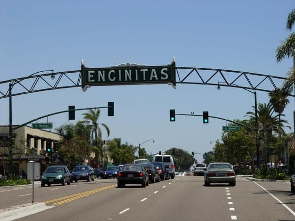 One of the most beautiful beach towns along the California Coast.  I lived in Carlsbad and loved going to Encinitas to shop, dine and go to Moonlight Beach!