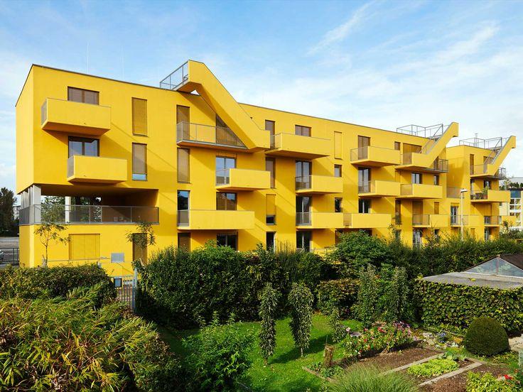 best architects architektur award // INNOCAD Architektur / FLUR 20 / best architects 14 / Wohnungsbau/Mehrfamilienhäuser