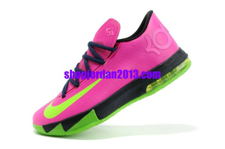 newest dc8e7 2d768 Nike Zoom KD 6(VI) Shoes N7 Pink Green Black Kevin Durant